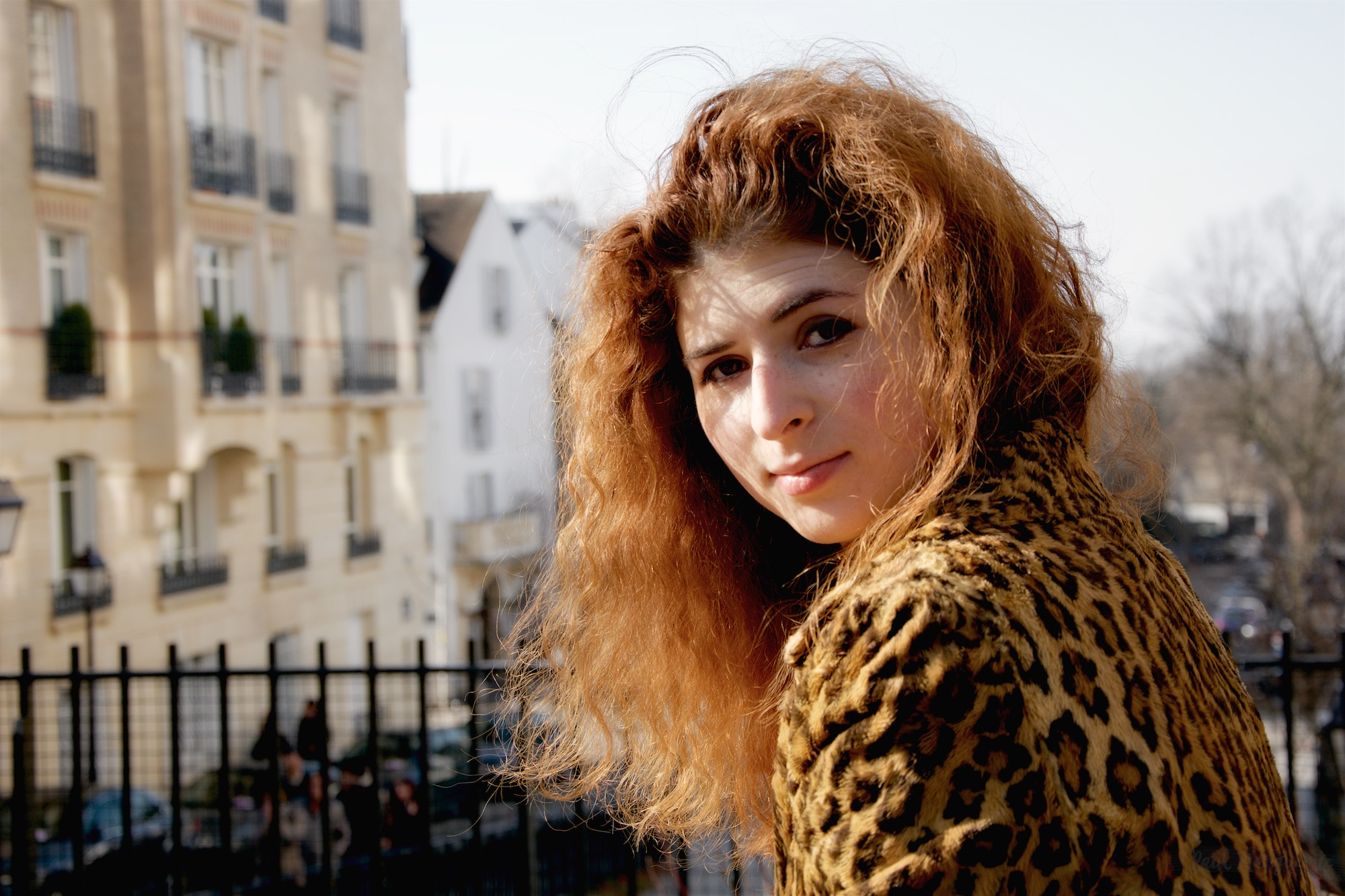 Vera à Montmartre