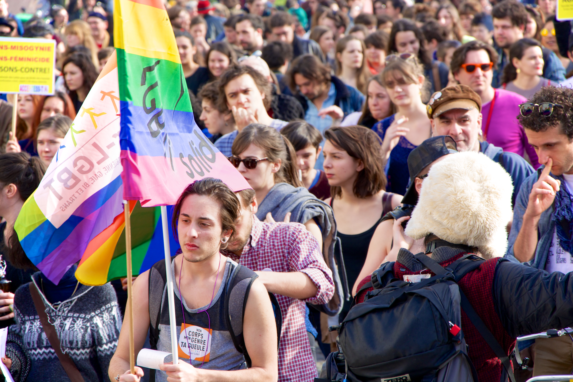 Manifestation Journée internationale de luttes pour les droits des femmes