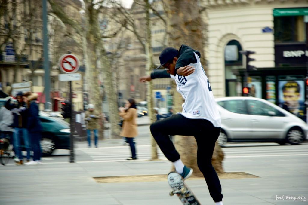Skate à Paris par Paul Marguerite 1