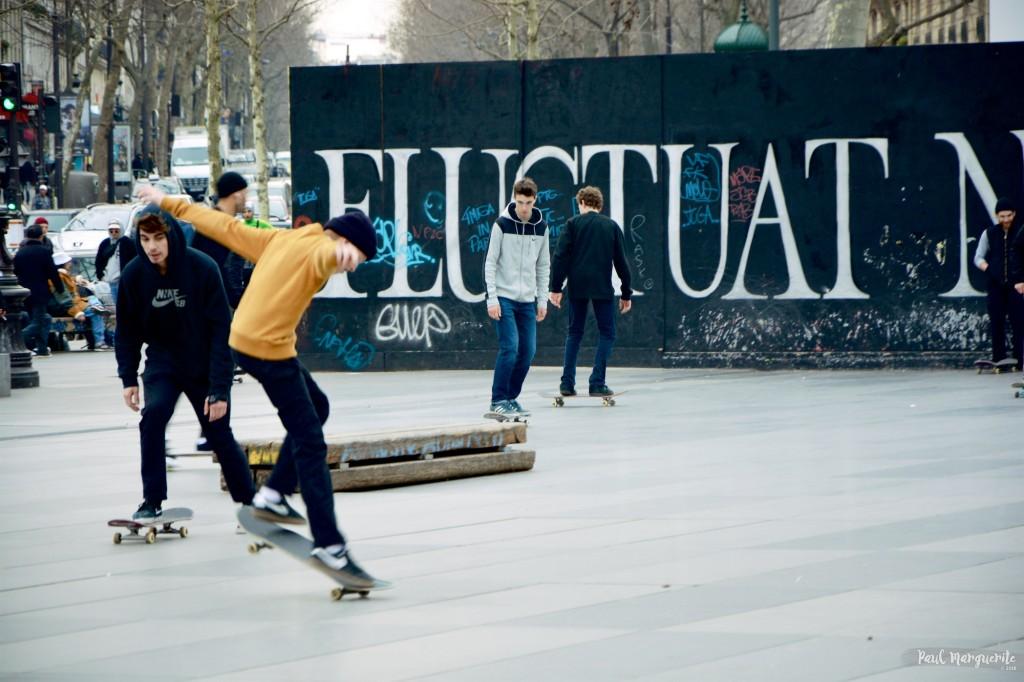 Skate à Paris par Paul Marguerite 2