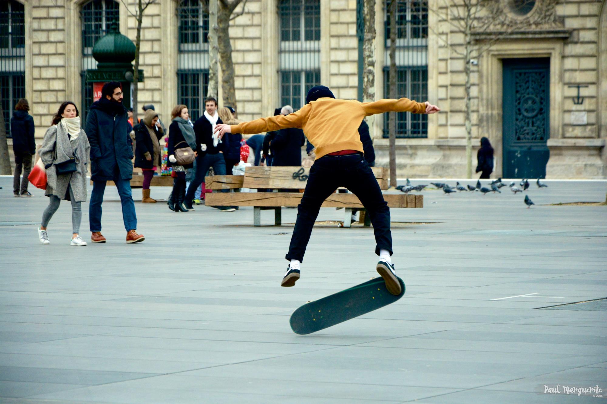 Skate à Répu