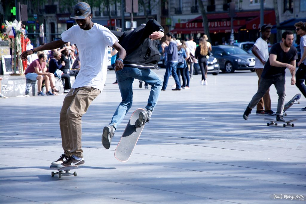 Skate République 2 - par Paul Marguerite - 1