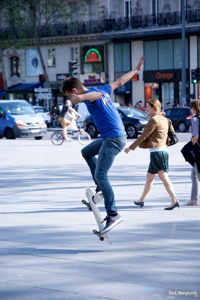 Skate République 2 - par Paul Marguerite - 2