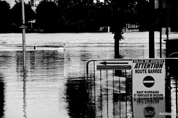 Juvisy - Inondations crue - par Paul Marguerite - 20160603 79