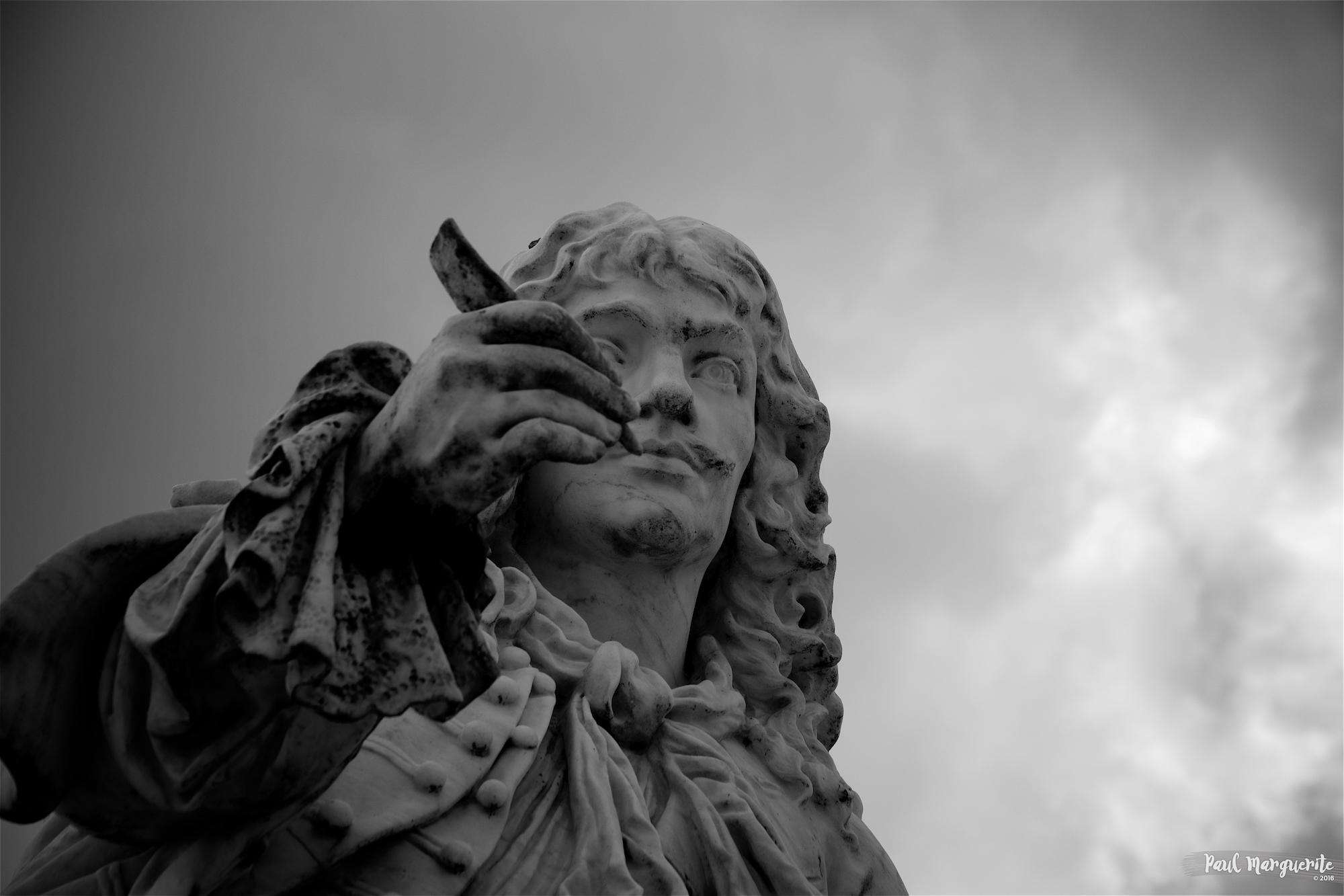 Les statues du Château de Chantilly