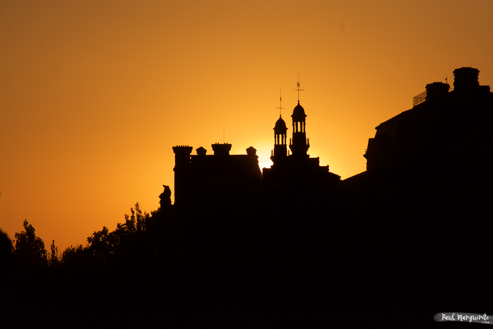 Sunset @ Paris