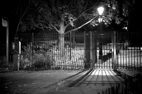 Courbevoie de nuit - par Paul Marguerite -1