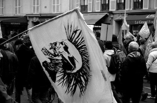 Manifestations contre le CPE