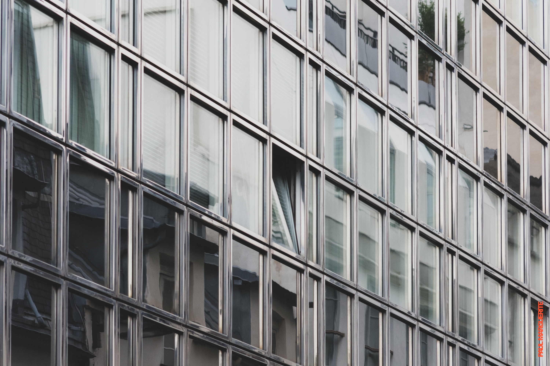 Les vitres de Paris